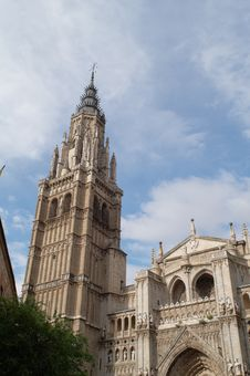 Cathedral Of Saint Mary Of Toledo Royalty Free Stock Images