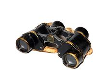 Free Very Old Binocular Royalty Free Stock Image - 8666766