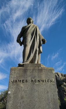 Free James Renwick 1662-1688 – Stirling Cemetery Stock Photos - 8667113