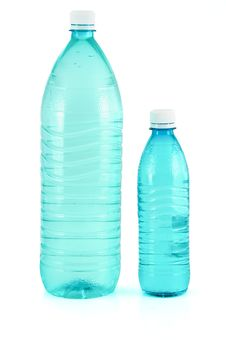 Free Water Bottles Royalty Free Stock Photography - 8667257