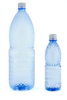 Free Water Bottles Royalty Free Stock Image - 8667296