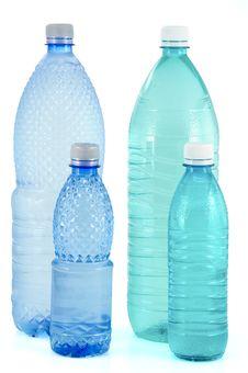 Free Water Bottles Royalty Free Stock Photo - 8667335