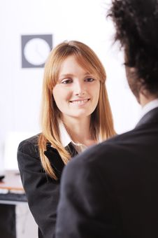 Free Businesswoman In The Office Stock Photos - 8667773