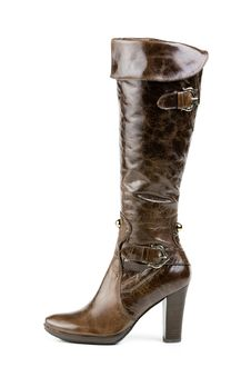 Free High Boot, Isolated On White Royalty Free Stock Images - 8667949