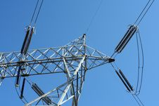 Free Power Lines Royalty Free Stock Images - 8668019