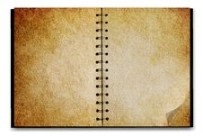 Free Old Notepad Stock Image - 8668621