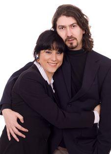 Free Business Couple Stock Image - 8668691