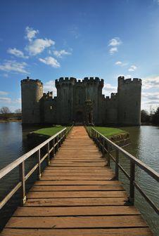 Free Bodiam Castle, Sussex, UK Stock Image - 8669011