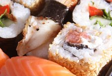 The Japanese Meal Royalty Free Stock Photography