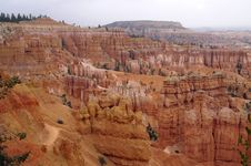 Free Bryce Canyon Amphitheater Royalty Free Stock Images - 8669449