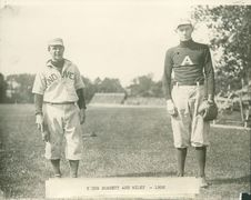 Free Phillips Academy Baseball Players: Young Burdett And Riley, 1908 Royalty Free Stock Image - 86686416