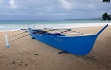 Free Fishing Boat. &x28;Banca&x29; Philippines Stock Images - 86686774