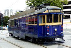 "Free Tram 411 ""Tramway Restaurant"" Stock Photos - 86687093"