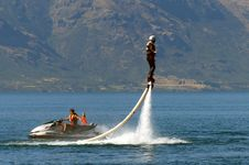 Free What Will They Think Of Next....Flyboard. Royalty Free Stock Photography - 86687207
