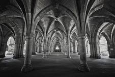 Free University Of Glasgow Cloisters Royalty Free Stock Image - 86687726