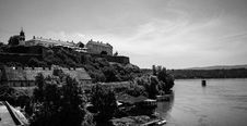Free Petrovaradin Fortress And The Clock - Novi Sad - Serbia Stock Images - 86687974