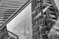 Free 179 Reflections Of Woodwards-vancouver-gastown-xe2-zeiss35-2-20151009-DSCF7531-Edit Stock Photography - 86688072