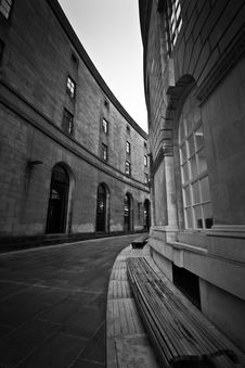 Free Manchester Central Library Royalty Free Stock Image - 86688436