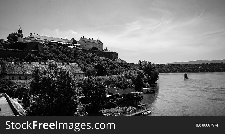 Petrovaradin Fortress and the Clock - Novi Sad - Serbia