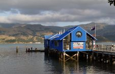 Free The Wharf Akaroa.NZ. Royalty Free Stock Images - 86690039