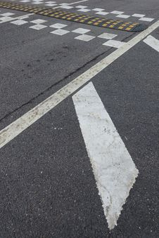 Free Zebra Crossing, Road Surface, Black, Asphalt Stock Images - 86690254