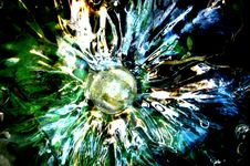 Free Radial Glass Texture Stock Image - 86691361
