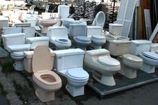Free Toilets Royalty Free Stock Images - 86691709