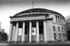 Free Manchester Central Library Royalty Free Stock Photography - 86692487