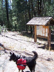 Free Fish Creek Trailhead Stock Images - 86692714