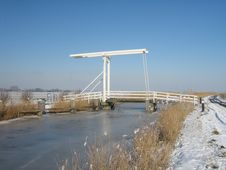 Free Drawbridge In Winter Stock Images - 86693484