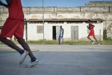 Free 2013_07_06_Mogadishu_Basketball_L Stock Photography - 86693572