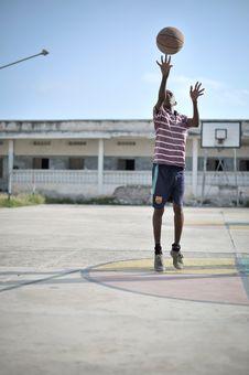 Free 2013_07_06_Mogadishu_Basketball_B Stock Image - 86693581