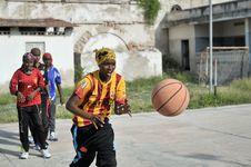 Free 2013_07_06_Mogadishu_Basketball_J Stock Images - 86693664