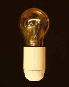 Free Filament Light Bulb  Royalty Free Stock Image - 86695016