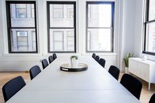 Free Conference Table And Chairs Stock Image - 86695651