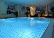Free Indoor Swimming Pool Royalty Free Stock Image - 86695786
