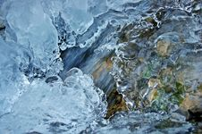 Free Close-up Of Frozen Water Stock Images - 86696584
