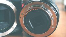 Free Close-up Of Vintage Camera Lens Stock Photos - 86697033
