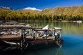 Free Pier On Lake Stock Photography - 8670032