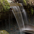 Free Blurred Small Waterfall Royalty Free Stock Photo - 8670525
