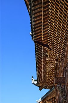 Free Chinese Roof Structure Royalty Free Stock Photos - 8670848