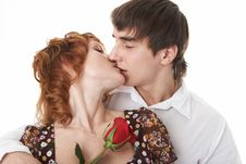 Young Beauty Couple Stock Photography