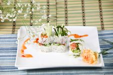 Chef S Special Roll Royalty Free Stock Photos