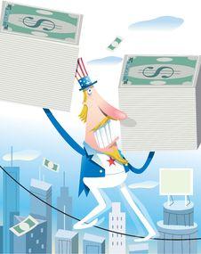 Free Dollar Crisis Stock Image - 8671951