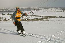 Free Kite Skiing Royalty Free Stock Image - 8672076