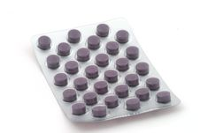 Free Tablets In The Blister Pack Stock Image - 8672561