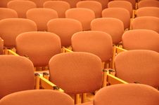 Free Chairs In Rows Royalty Free Stock Image - 8672566