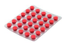Free Tablets In The Blister Pack Stock Photos - 8672593