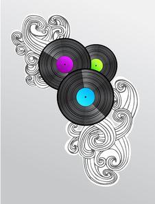 Free Vinyl Royalty Free Stock Image - 8674316