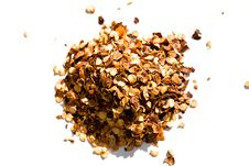 Free Red Pepper Flakes Royalty Free Stock Images - 8675139